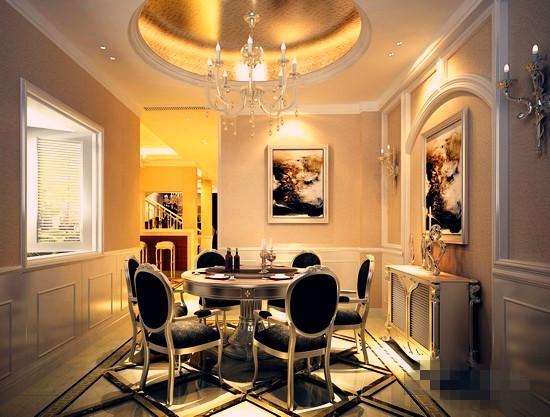 三居室欧式风格图片