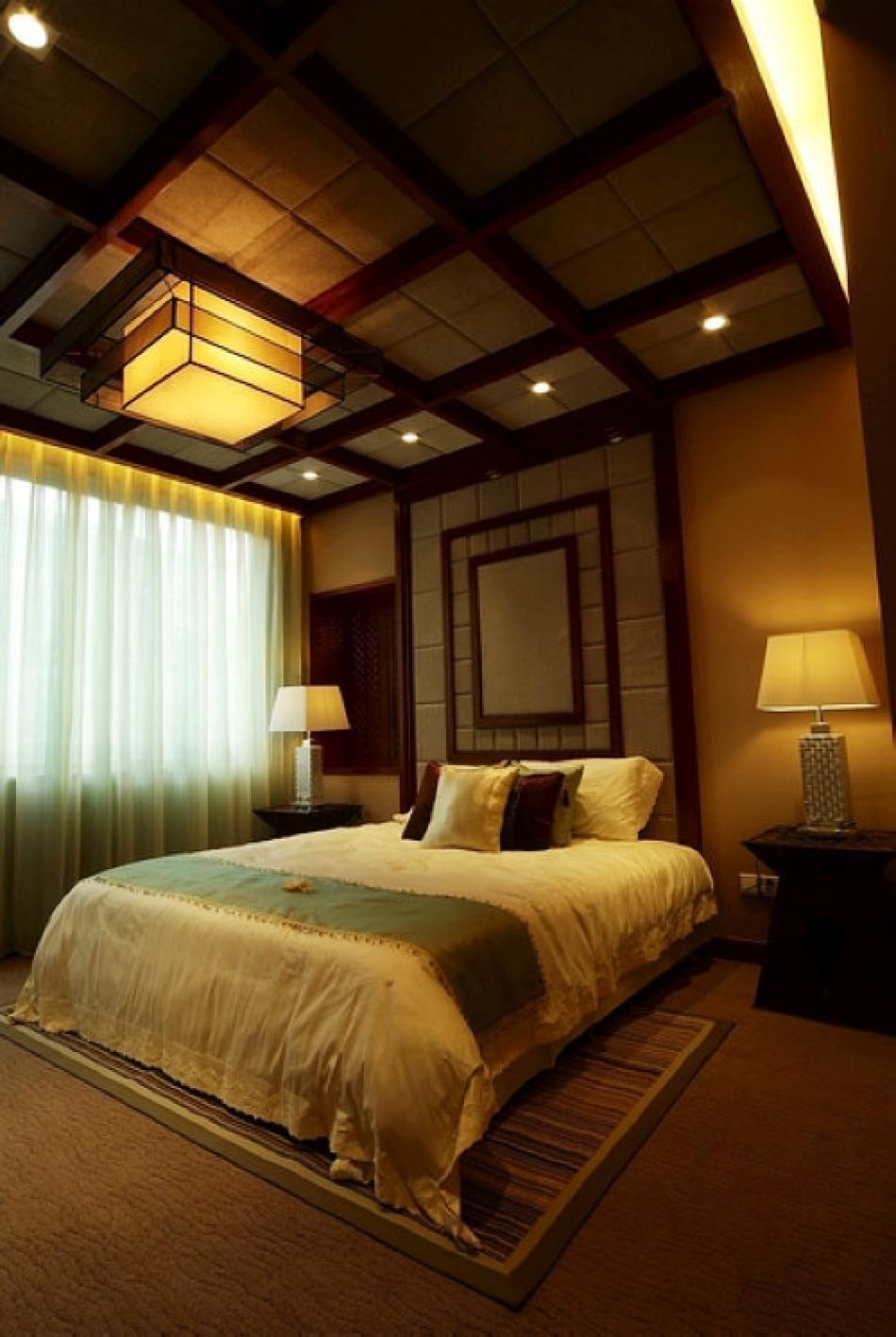 一居室现代风格_东南亚风格宾馆装修效果图-x团装修网