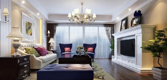 两居室现代风格客厅软装