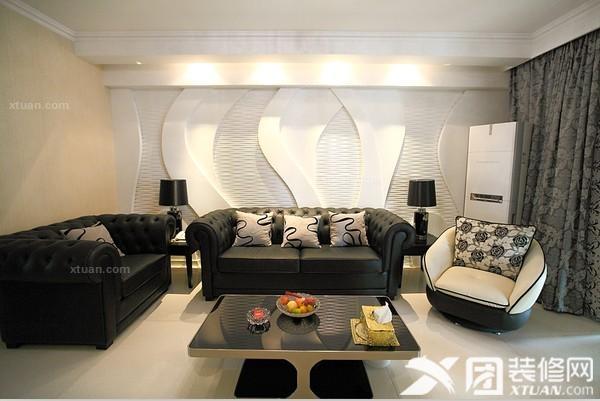两居室现代风格