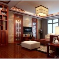 奥克斯盛世经典-两房两厅-现代中式风格