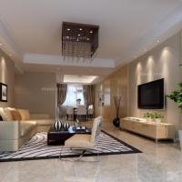 翠湖嘉园-四室两厅-现代简约风格