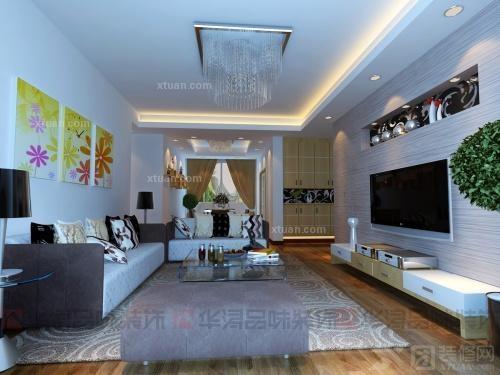 家装客厅案例二