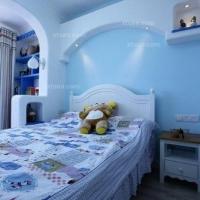 42平地中海小户型婚房