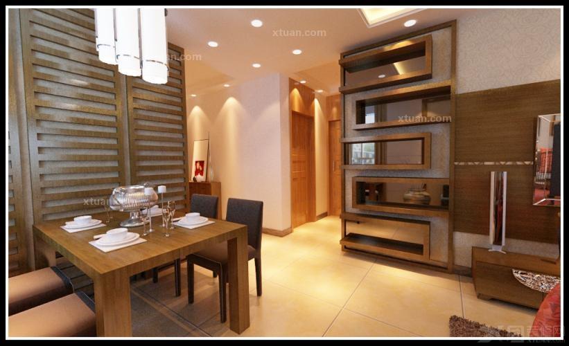 两居室中式风格餐厅