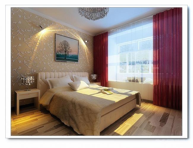 两居室现代风格小卧室