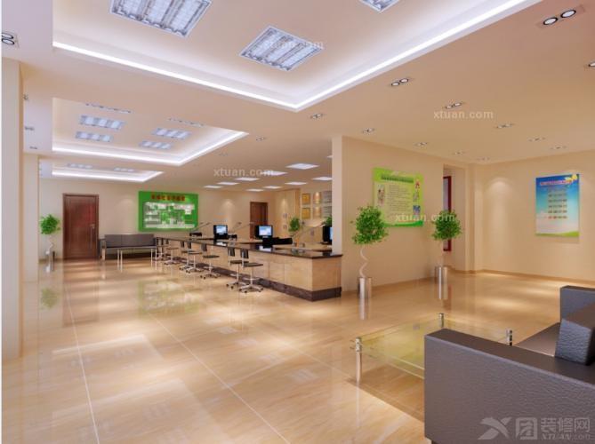 温馨社区办公设计