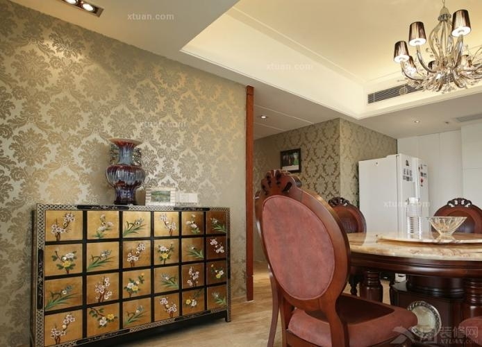 童焱清老师打造欧式新古典度假风情三居室130平8万装修