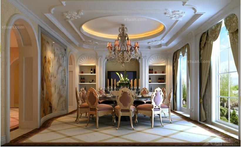 纳帕溪谷三层别墅314平欧式奢华设计