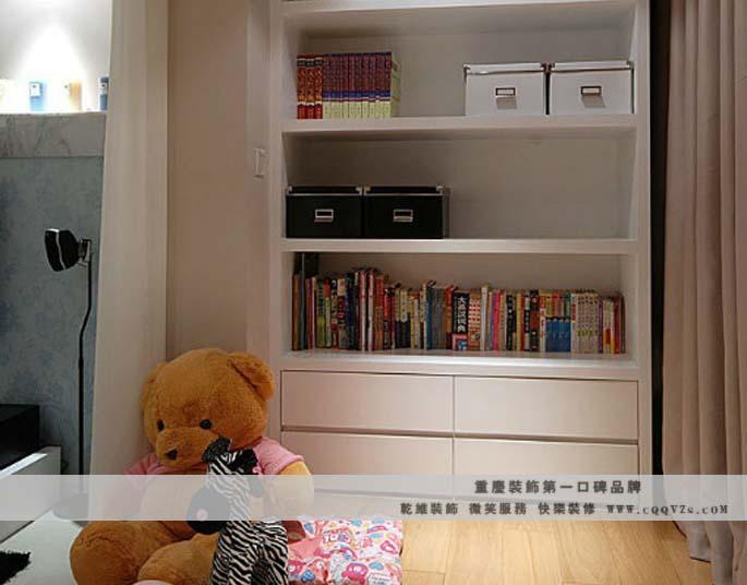 三居室现代风格小卧室