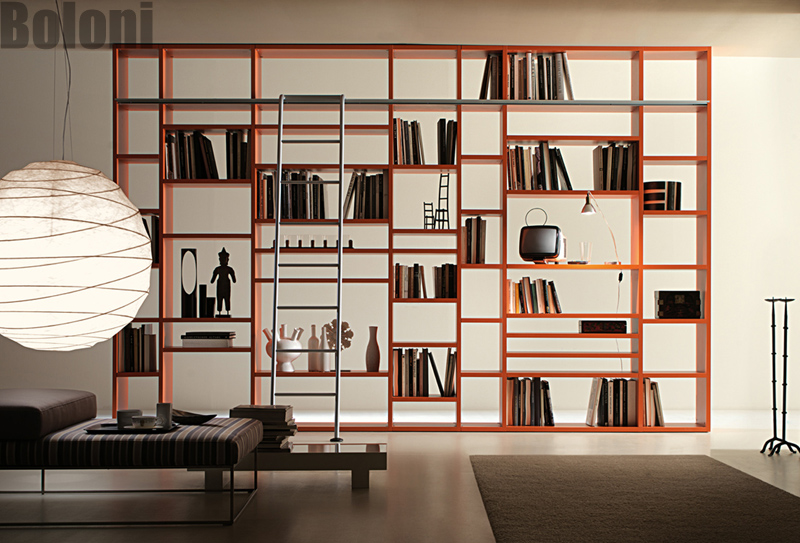 定制系统家具之书柜 装修效果图图片