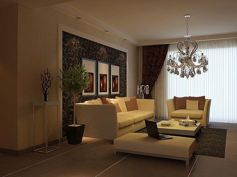 中国铁建山语城(现代简约风格)四居室