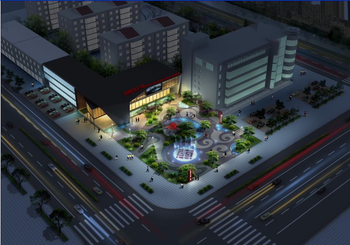 宏强文化广场售楼处样板间设计制作