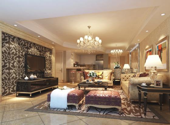 三华园-三居室-129㎡-装修设计
