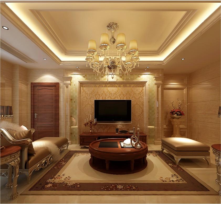 设计理念:欧式装修风格以其典雅、高贵的气质为主要特色,继承了传统欧式的经典细节。各个空间采用欧式罗马柱进行分割和装饰,把客厅、餐厅、家庭厅和楼梯间连续贯通,尽显住宅的豪放和大气;在细节上以弧形的线条与直线条拼接为不同的造型,营造有节奏的韵律感,显示了欧式设计的高雅品质。