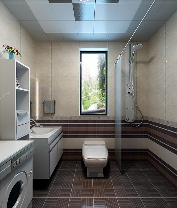三居室现代风格