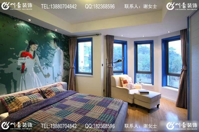 成都南湖国际之地中海风格装修图片