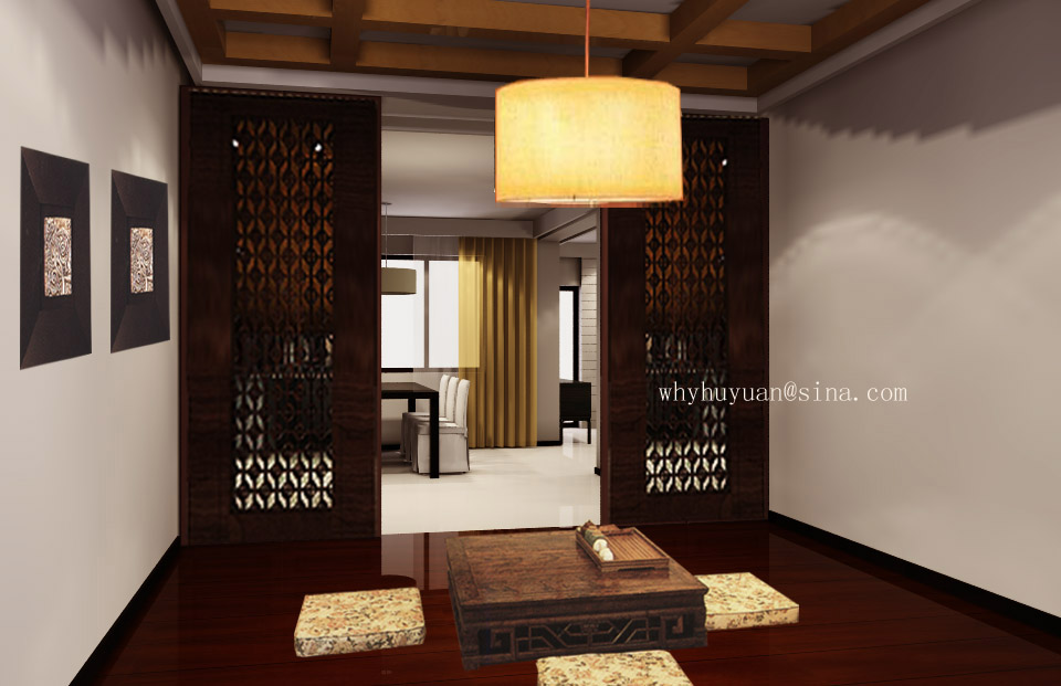 百旺茉莉园(现代风格)三居室