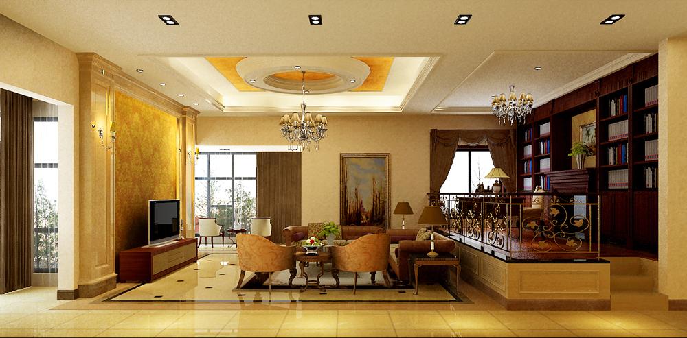 北京华侨城(美式风格)平层别墅