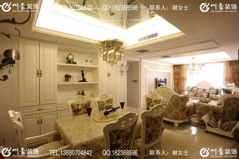 成都恒禾皇冠国际社区之欧式风格装修图片