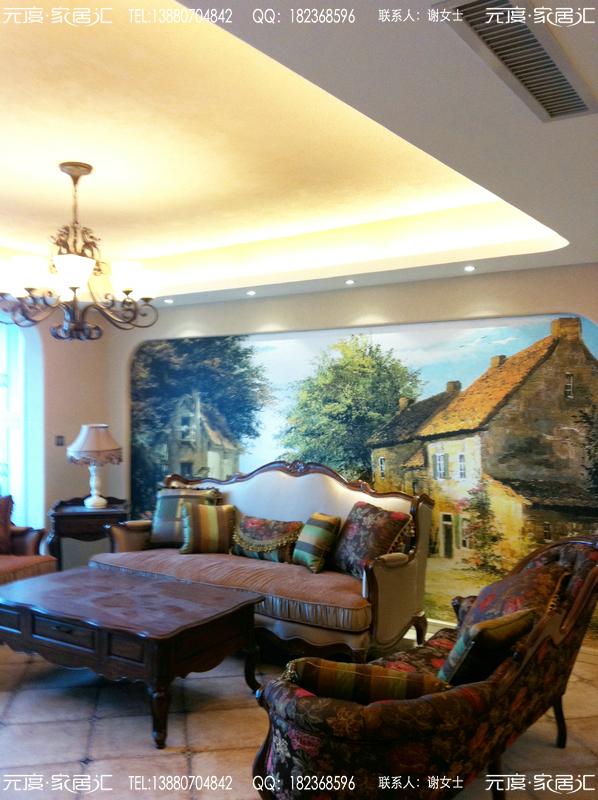 成都圣路易名邸之意式欧式风格装修图片