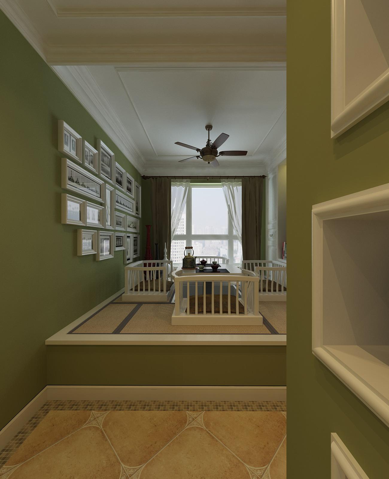 一居室古典风格阁楼