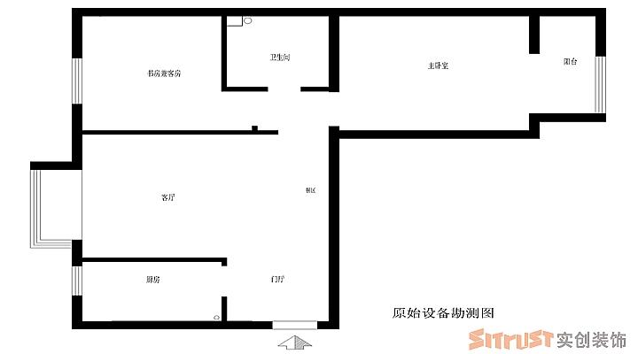 两居室简约风格
