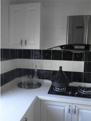 北辰三角洲|140平欧式风格三房两厅|装修效果图-长沙实创装饰