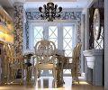 保利麓谷林语|121平简欧风格3室2厅|装修效果图-长沙实创装饰