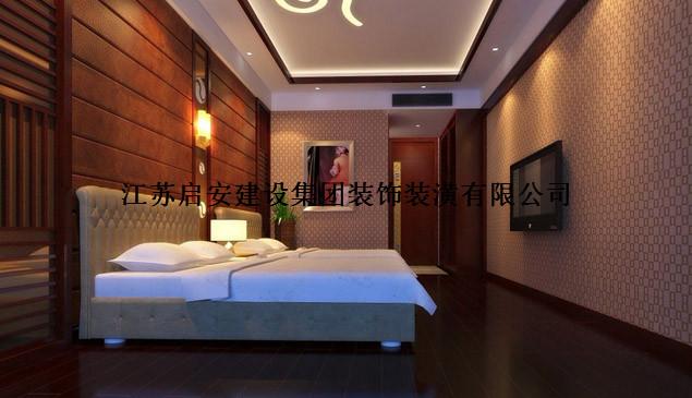中式风格_上海足浴中心装修效果图-x团装修网