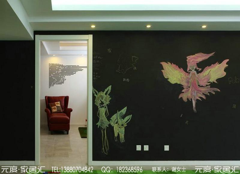 成都月映长滩别墅之现代简约风格装修图片