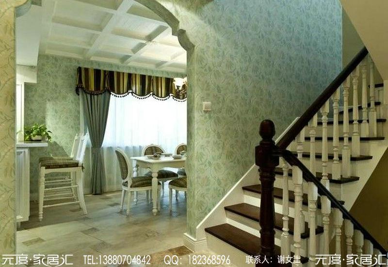 成都东山国际之简约欧式风格装修案例图片
