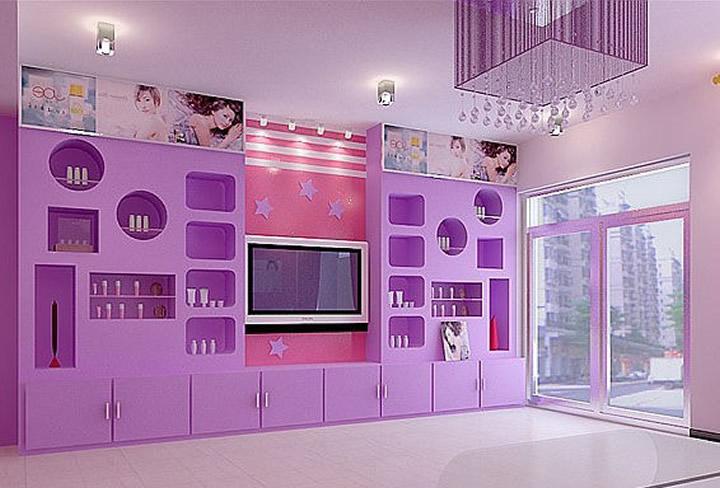化妆品店设计