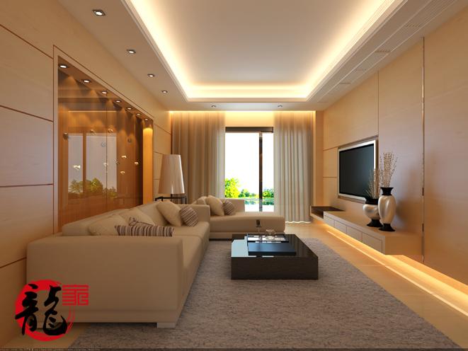 永鸿3期87平客厅设计