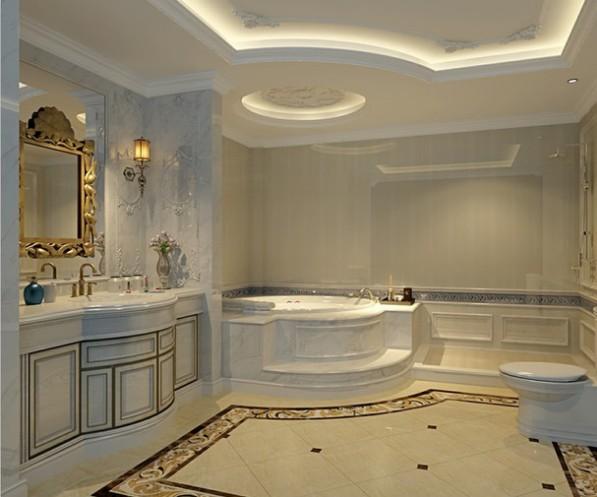 现代法式风格--卫浴间