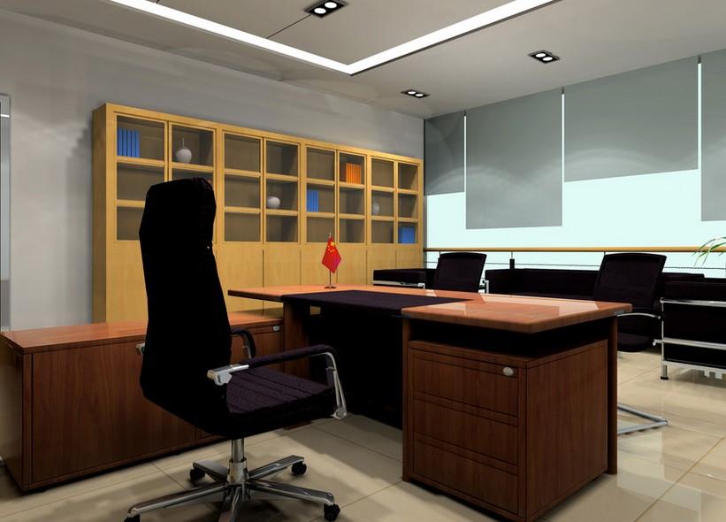 领导办公室装修效果
