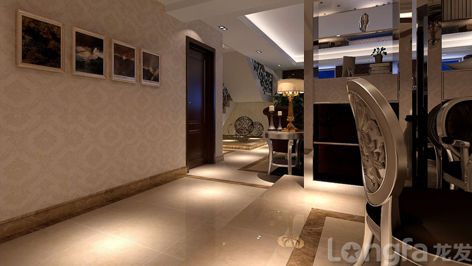 上海中粮万科翡翠别墅现代简约风格设计
