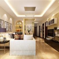 上海中冶祥腾宝月花园三居室户型现代简约风格