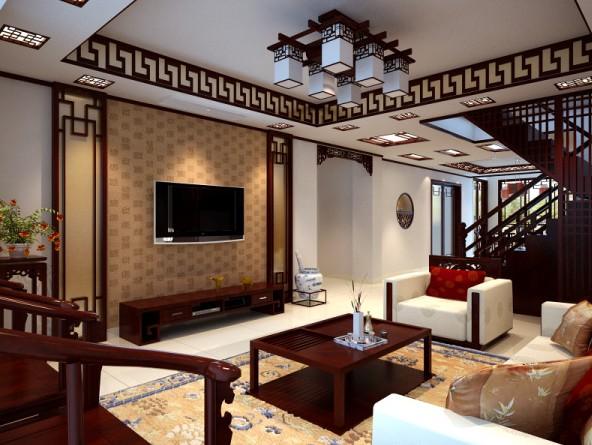 两居室古典风格