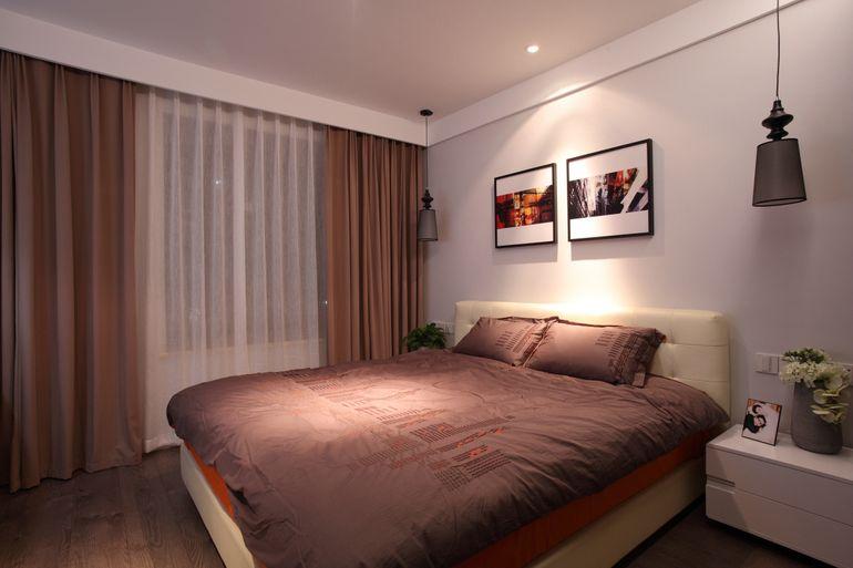 华宇金沙时代-二居室-85.72平米-装修设计