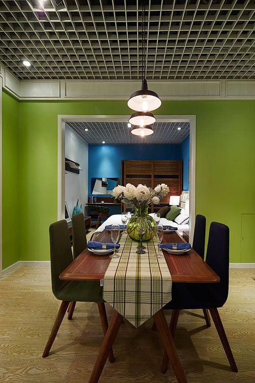 锦簇滨江-二居室-75平米-装修设计