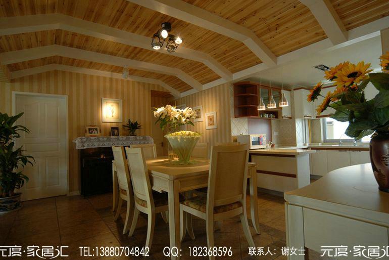 成都东山国际别墅之田园风格装修案例图片