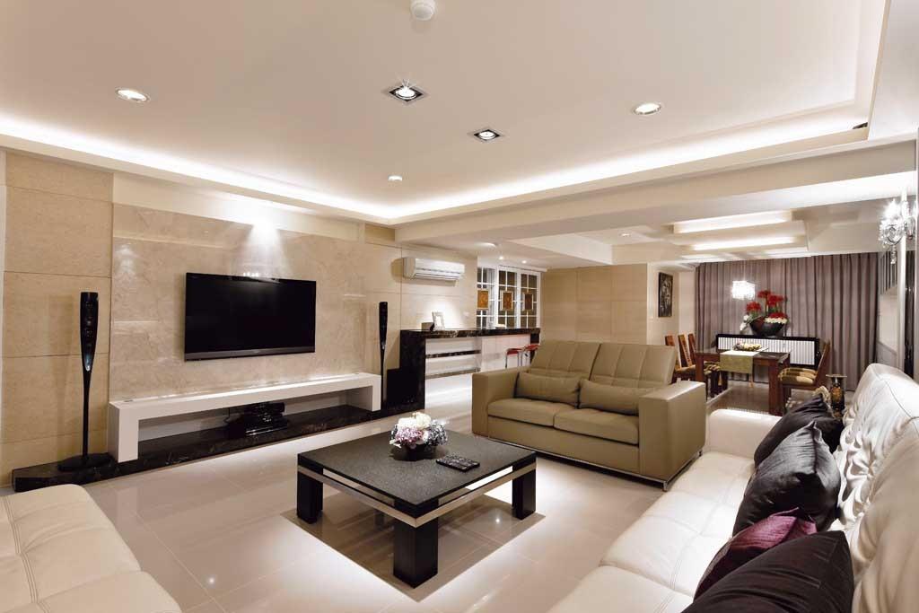 120平古典设计 赋予旧屋新面容