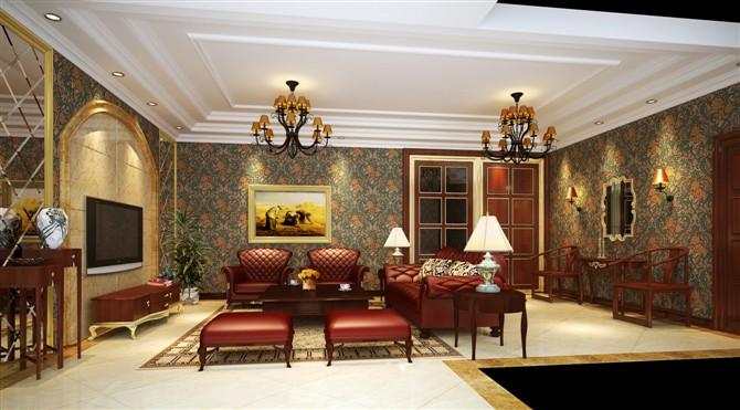 客厅设计效果图
