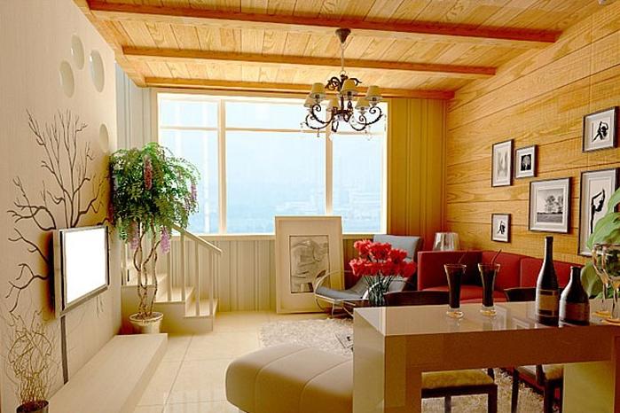 复式楼简约风格客厅