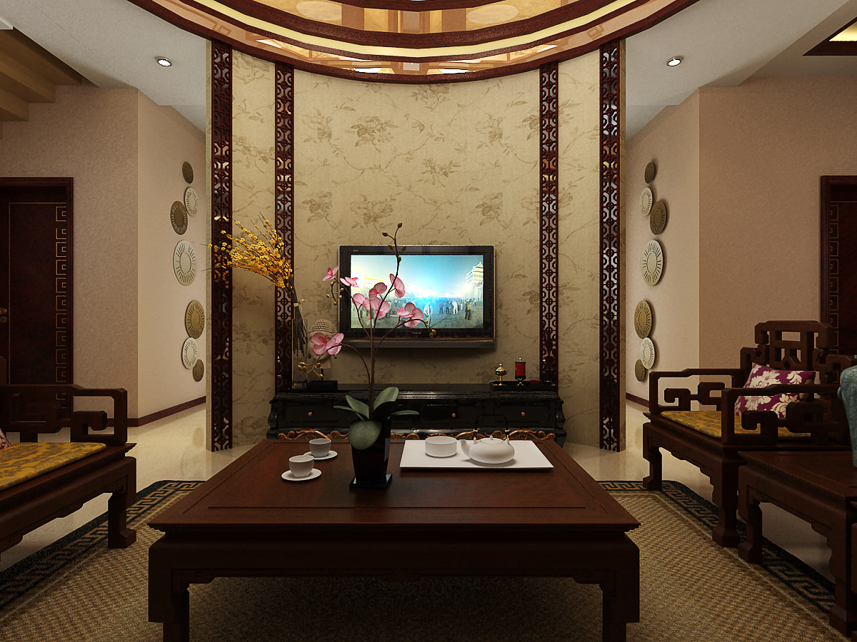 别墅中式风格