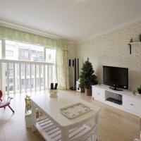 方圆经纬85平米二居室 客厅装修效果图