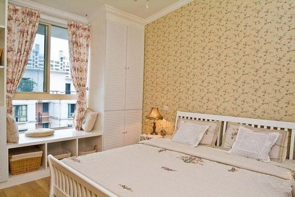 方圆经纬85平米二居室 卧室装修效果图