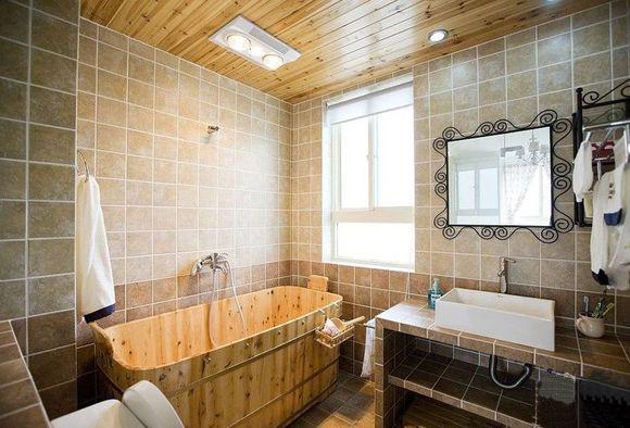 方圆经纬85平米二居室 浴室装修效果图