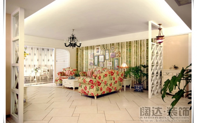 官渡区香樟俊园90平方米田园风格D1户型6.3万元